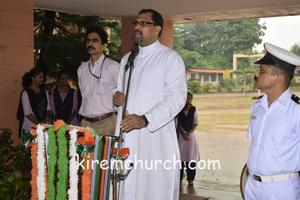 Independence day celebrated at Pompei College Ailkala