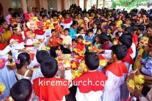 Monthi Feast Celebration at Kirem Church