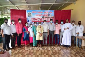 'Vaccination Mission' in Our Lady of Remedies Church , Kirem , Damaskatte