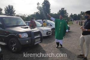 Vehicles Blessed at Kirem Church