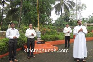 Independence day celebration at Kirem Church