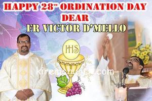 28th Anniversary Ordination Day of Parish Priest