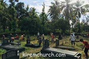 Cleaning of Cemetery